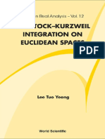[Tuo Yeong Lee]  Henstock-Kurzweil Integration
