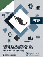 063 Reporte Del Indice de Desempeno INDEP 2017