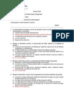 Examen Final Arbitraje PUCP CARC