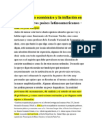 El Desarrollo Ecy La Inflacion en Mex y Otros Paises AL. Juan Noyola[1]