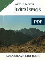 Martin Noth - Geschichte Israels-Vandenhoeck & Ruprecht (1966)