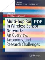 (2016 - Book) Multi-hop Routing in Wireless Sensor Networks an Overview, Taxonomy, And Research Challenges
