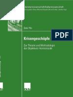 Dirk Pilz (Auth.) - Krisengeschöpfe_ Zur Theorie Und Methodologie Der Objektiven Hermeneutik-Deutscher Universitätsverlag (2007)