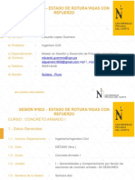 5 Secc 03_ Rotura-Vigas Con Refuerzo - Concreto Armado I 10-11-18