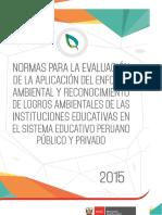 UEA Bases Evaluación Enfoque Ambiental 2015