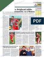 La Provincia Di Cremona 04-01-2019 - Serie B