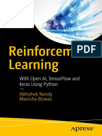 Reinforcement Learning using Open AI, Tensorflow and Keras