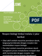 2. Metabolisme obat