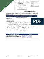 Ang-For 029 Acta de Reunión Final