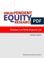 CRISIL Research Ier Report Chamanlal Setia