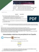 Intensidades máximas de precipitación en España - Climas del mundo y climatología histórica.pdf