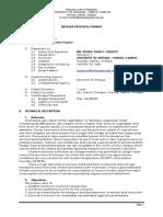 Mushroom Proposal DA BAR Format