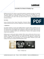 1 - Oxygen Permeability Test Method of Pudding Cups
