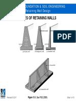 CIVE.4310 Retaining Wall Design
