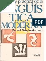 Teoría y Práctica de La Lingüística Moderna [2ª Ed., Trillas, 1990]