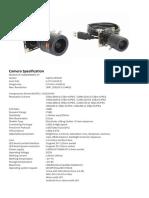 Camera Spesification