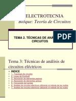 ELECTROTECNIA Segundos principios
