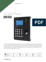 480460 Anviz C2-Catalogue