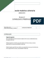 Modulo 5 - Durabilidade e Preservacao_20091120