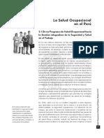 SOMT I. Cap 3. La Salud Ocup. en El Peru V1.17