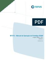 Manual de Operação Do Protótipo - TAF x REINF