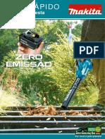 MAKITA - Guia Rapido - Jardim e Floresta