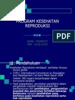 Program Kesehatan Reproduksi