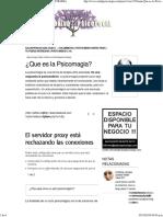 Alejandro Jodorowsky, Psicomagia - SALUD Y PSICOLOGIA