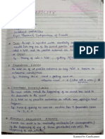 PROBABILITY AND STATISTICAL ANALYSIS