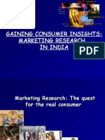 Gaining Consumer Insights- Marketing Research in India 24[1]