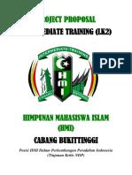 Project Proposal Intermediate Training (LK2 )HMI Cabang Bukittinggi.pdf