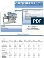 Catalogue of Sagar Shaping Machines