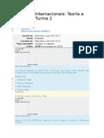 REL-2018-2 - Exercicio de Fixação - Modulo II