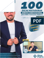 100 DICAS MATADORAS-Prof. Marcílio Ferreira-eBook - Constitucional - 4 Ed
