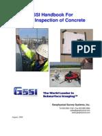 GP Radar Concrete Handbook