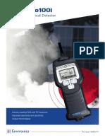 ChemPro100i Handheld Chemical Detector