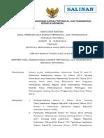 1540785265 Peraturan Menteri Desa Pembangunan Daerah Tertinggal Dan Transmigrasi Nomor 16 Tahun 2018
