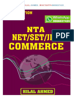 NTA UGC NET COMMERCE