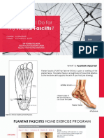 Plantar Fasciitis Home Exercise
