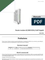 Manuale Dlink AC2000
