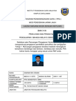 Analisis Item Ujian Mac 2015