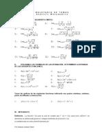 Balotario de Temas Analisis Matematico