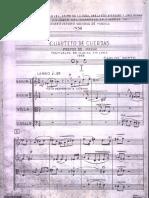 Carlos Botto - Cuarteto de Cuerdas - Score