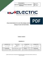 P-ser - Proc. Pruebas Electricas a Maquinas Rotativas
