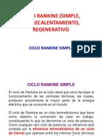 Clase N° 7-CICLO RANKINE (SIMPLE, SOBRECALENTAMIENTO, REGENERATIVO - copia