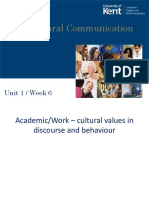 Week 06 Intercultural Communication 1 - For HEA