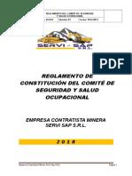 2.- Reglamento y Constitución Sso