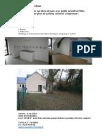 Annonce Location Logement 4 Rue Pelet