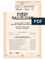 Every Hallelujah Preview