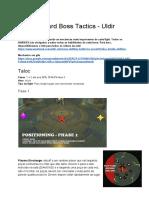 Team HaZard Boss Tactics - Uldir